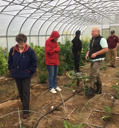 Master Gardeners greenhouse 2018